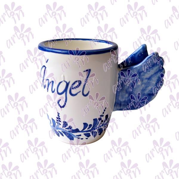 Taza alas ángel chica 8.5x6 cm