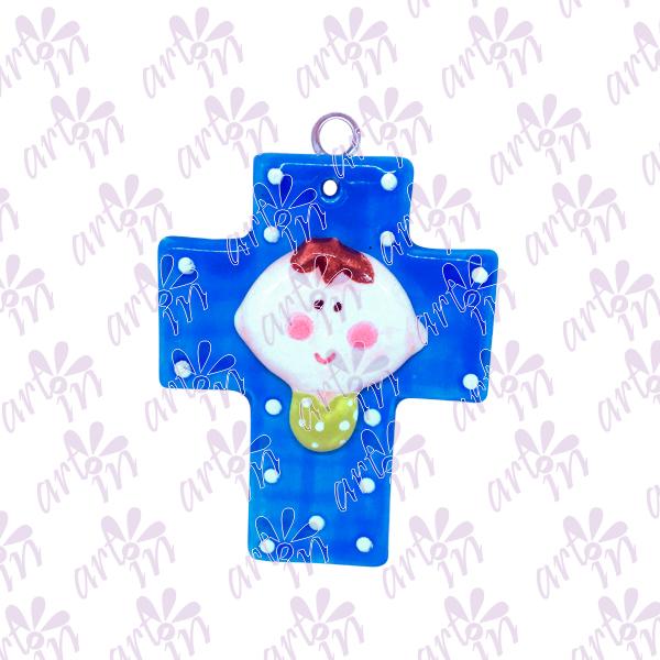 Cruz mini niño 8x6.5 cm