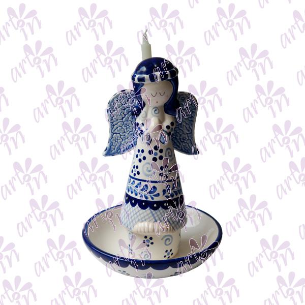 Centro de mesa angelita talavera 27x18 cm
