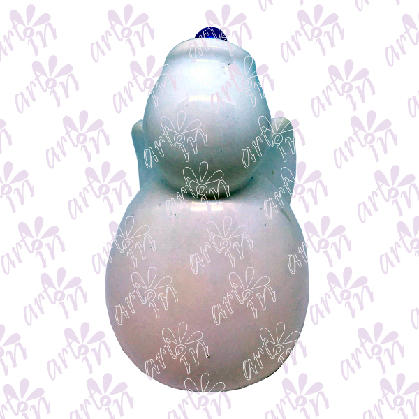 Angelito liso campana 8x5 cm