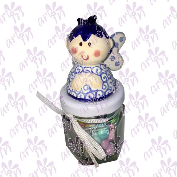 Angelito mini dulcero 10x5 cm